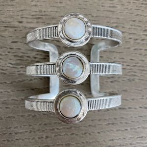 Lucky brand mother of pearl cuff